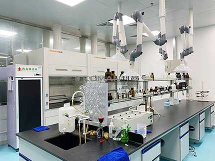Laboratory furniture configuration