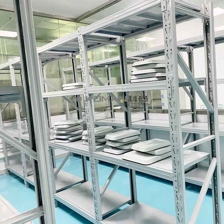 Cold Rolled Steel With Epoxy Resin Power Coating Storage Rack