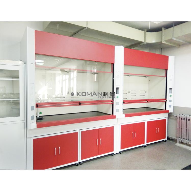 Laboratory Fume Hood Cupboard Exhaust Cabinet