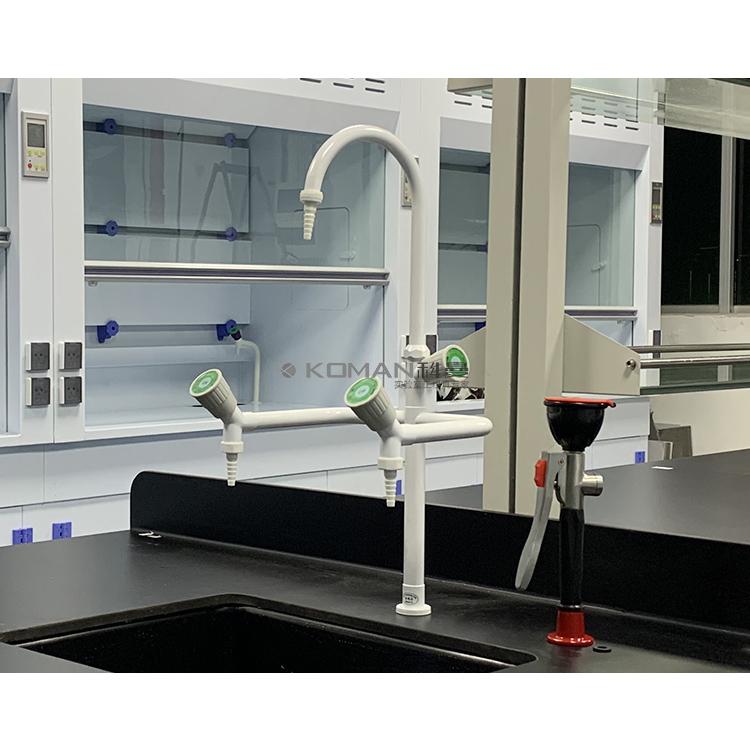 Laboratory triple three faucet